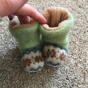 Other - fleece slippers